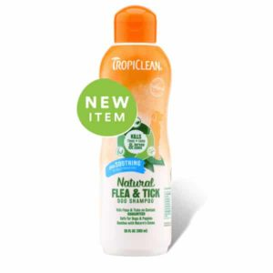 Tropiclean - Natural Flea & Tick Dog Shampoo