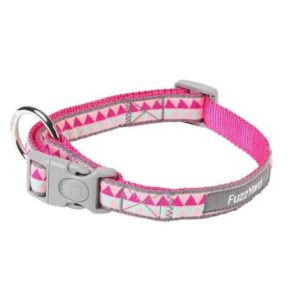 Fuzzyard Collar - Pink Maya