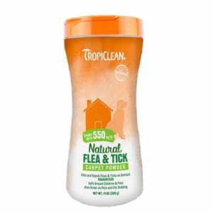Tropiclean - Natural Flea & Tick Carpet Powder
