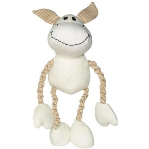 Dogit Natural Canvas & Cotton Toy - Donkey