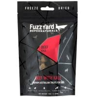 Fuzzyard Supernaturals Treats - Beef with Kale