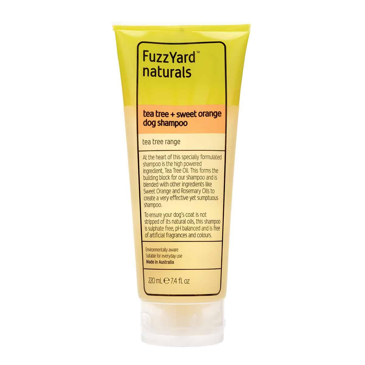 Fuzzyard Naturals - Tea Tree Range Shampoo