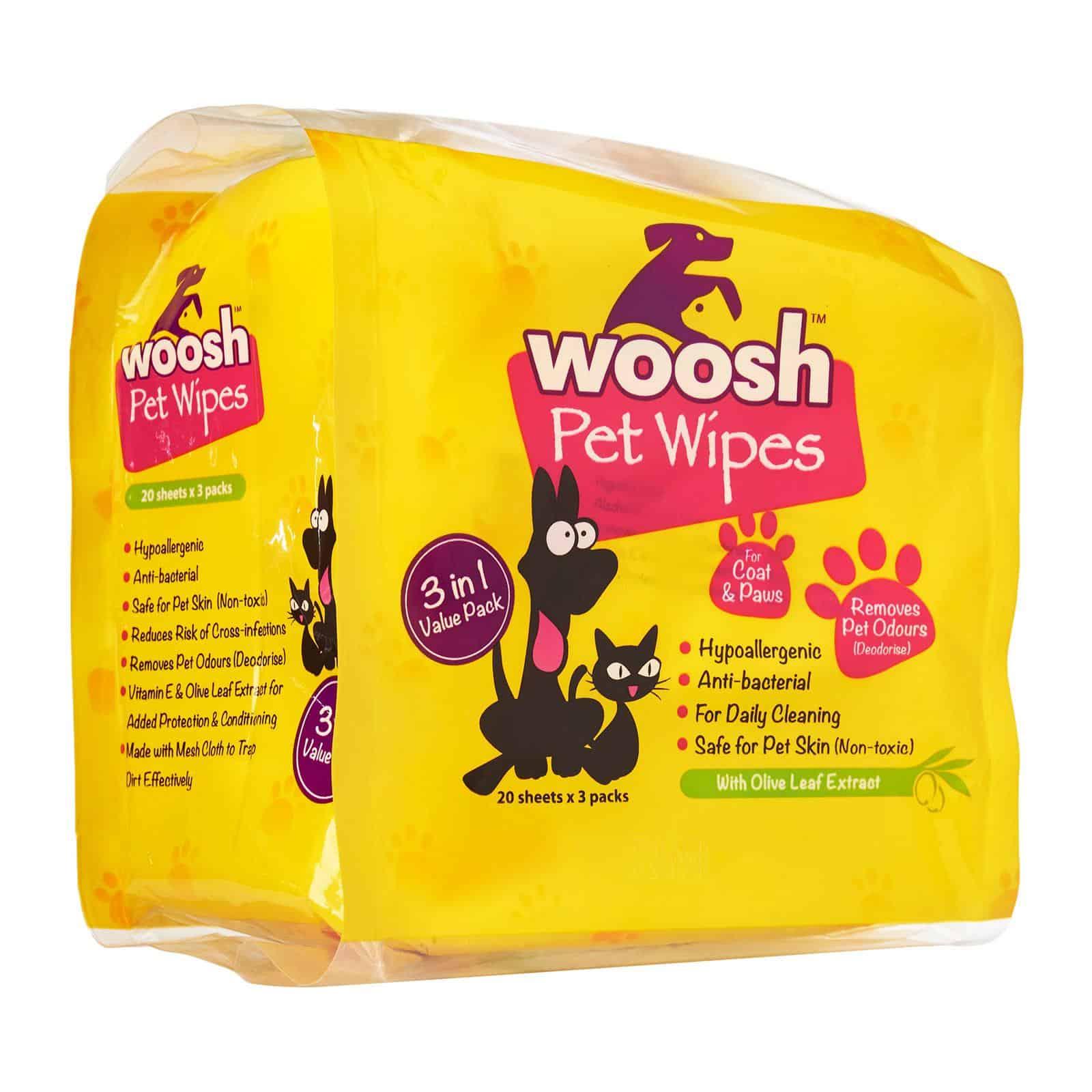 Woosh Pet Wipes