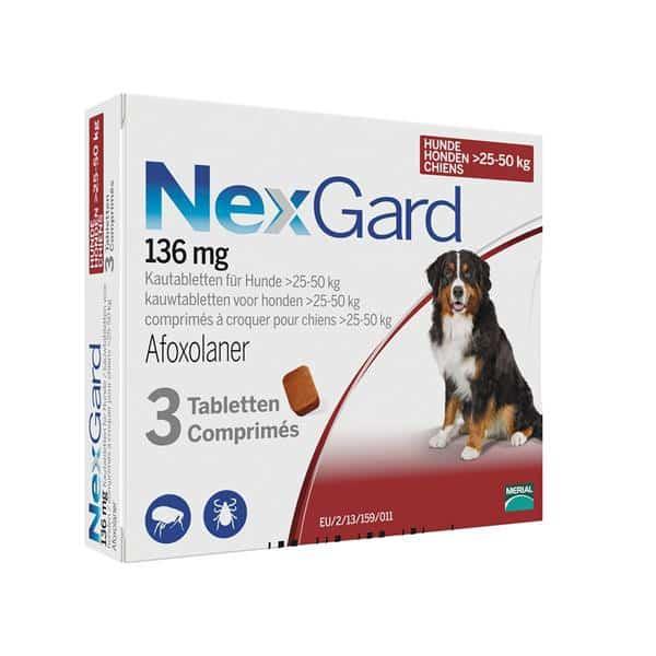 Nexgard - >25kg to 50 kg