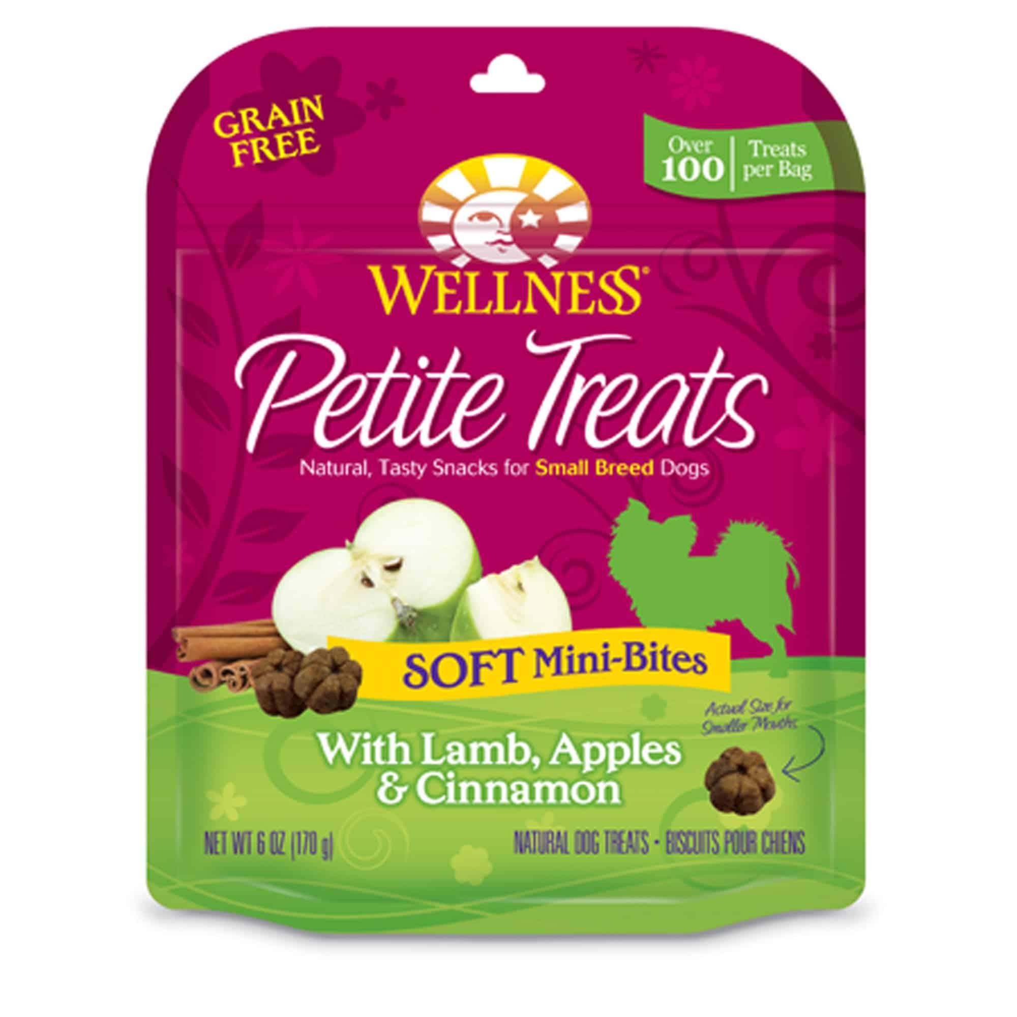 Wellness Grain Free Petite Treats - Lamb, Apple & Cinnamon