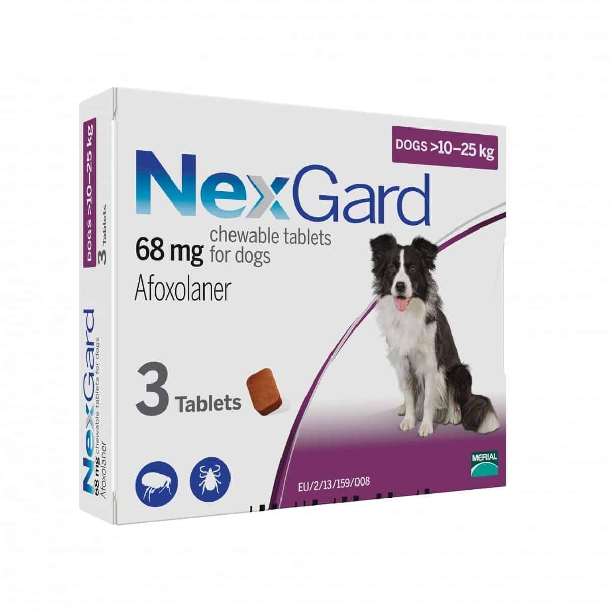 Nexgard - >10kg to 25kg