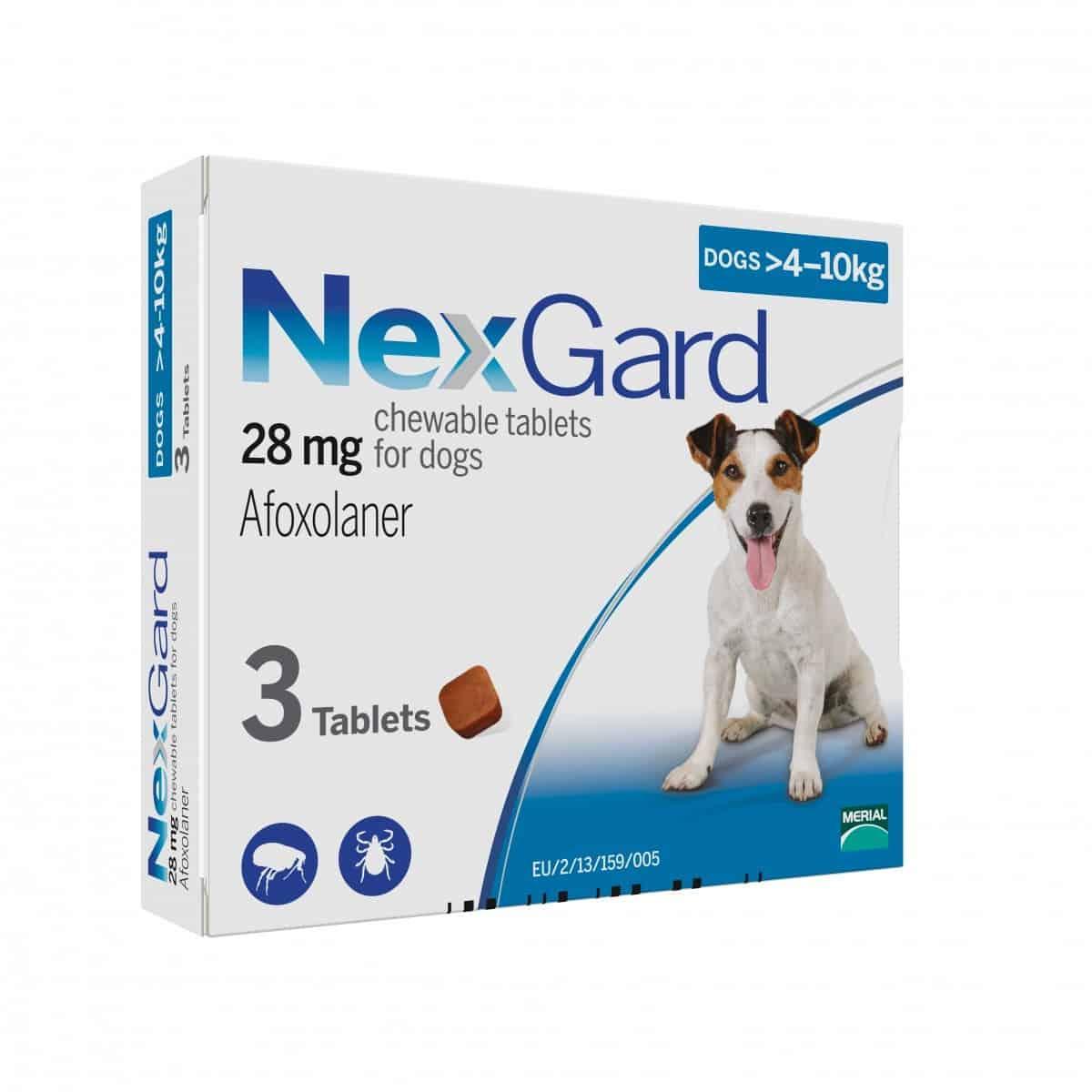 Nexgard - >4kg to 10kg
