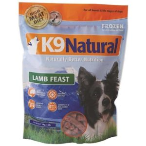 K9 Natural Frozen - Lamb