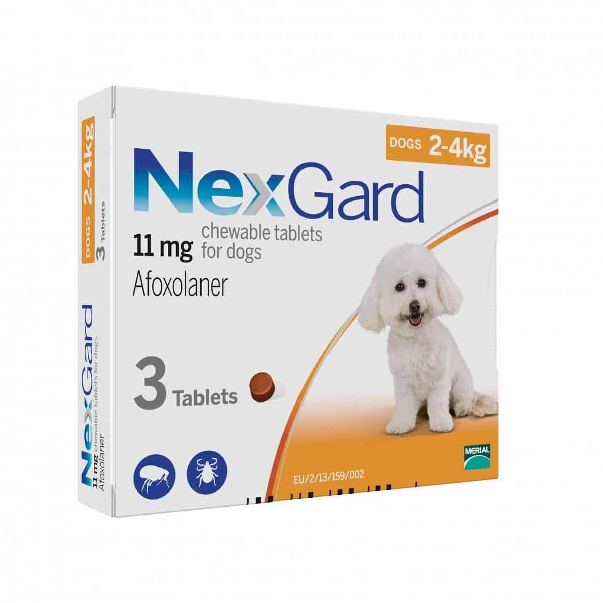 Nexgard - 2kg to 4kg