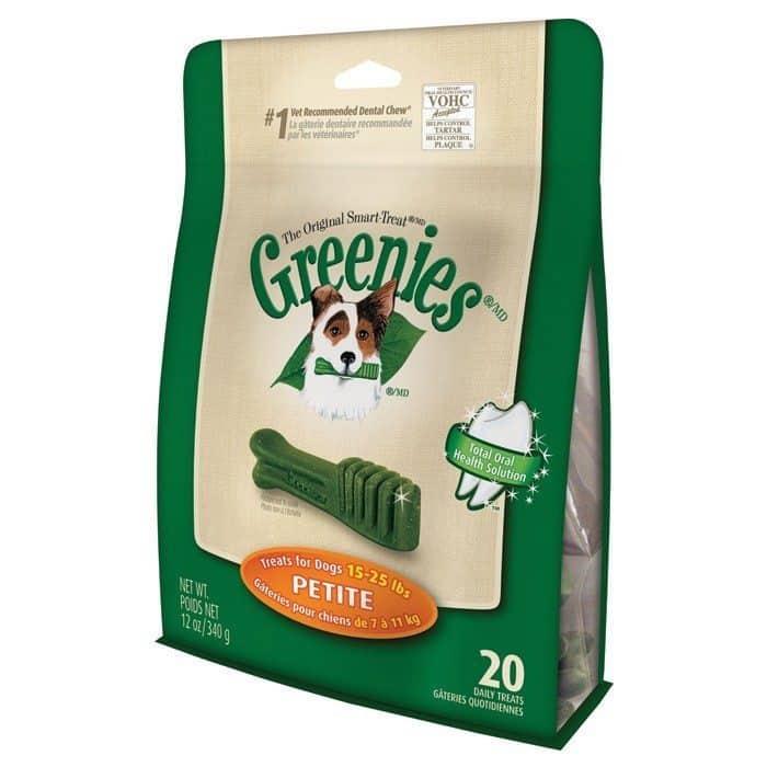 Greenies Dog Dental Chews - Petite