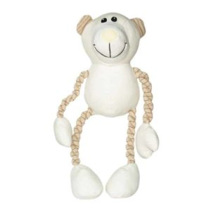 Dogit Natural Canvas & Cotton Toy - Dog