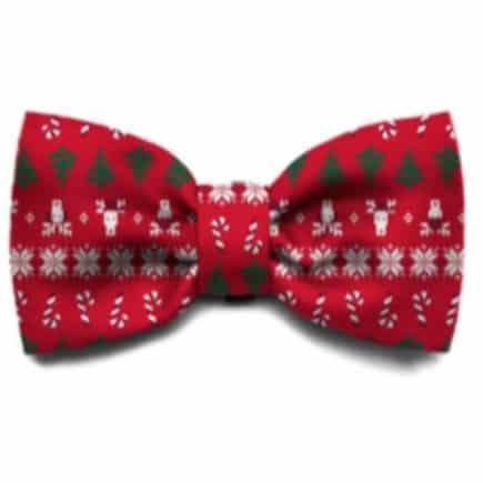 Zeedog Bow Tie - Rudolph