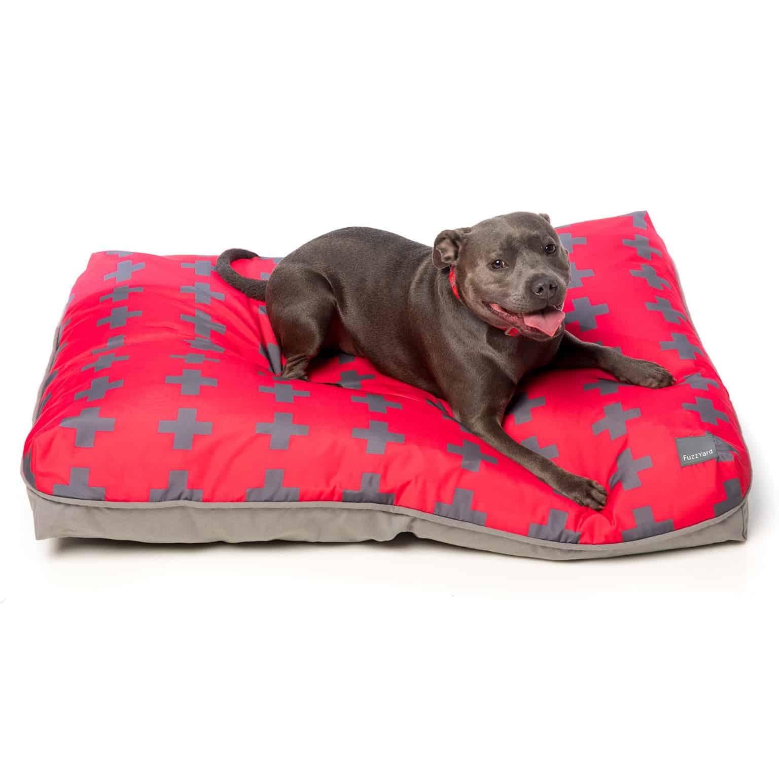 Fuzzyard Pillow Bed - El Fuego