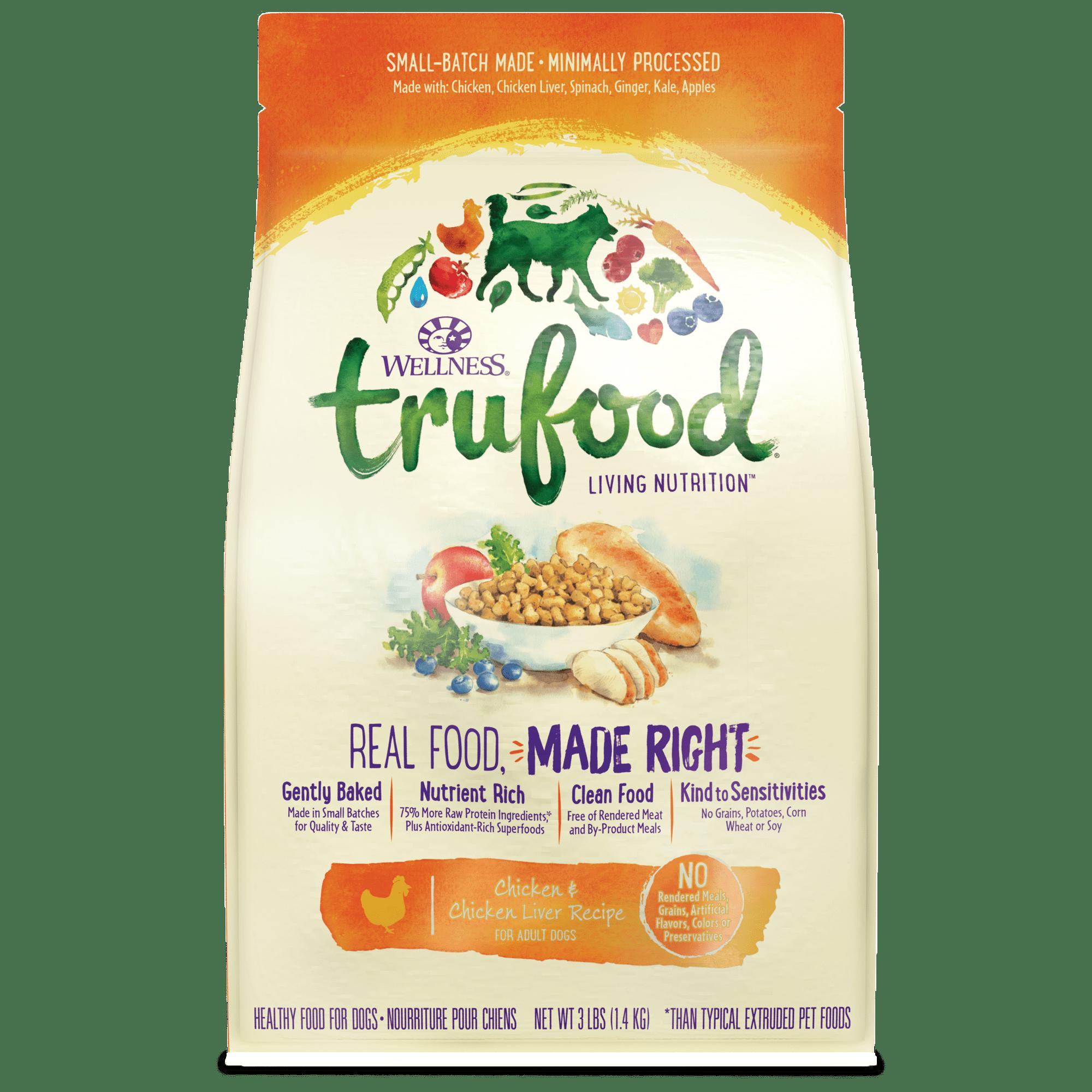 Wellness Trufood Chicken & Chicken Liver Recipe