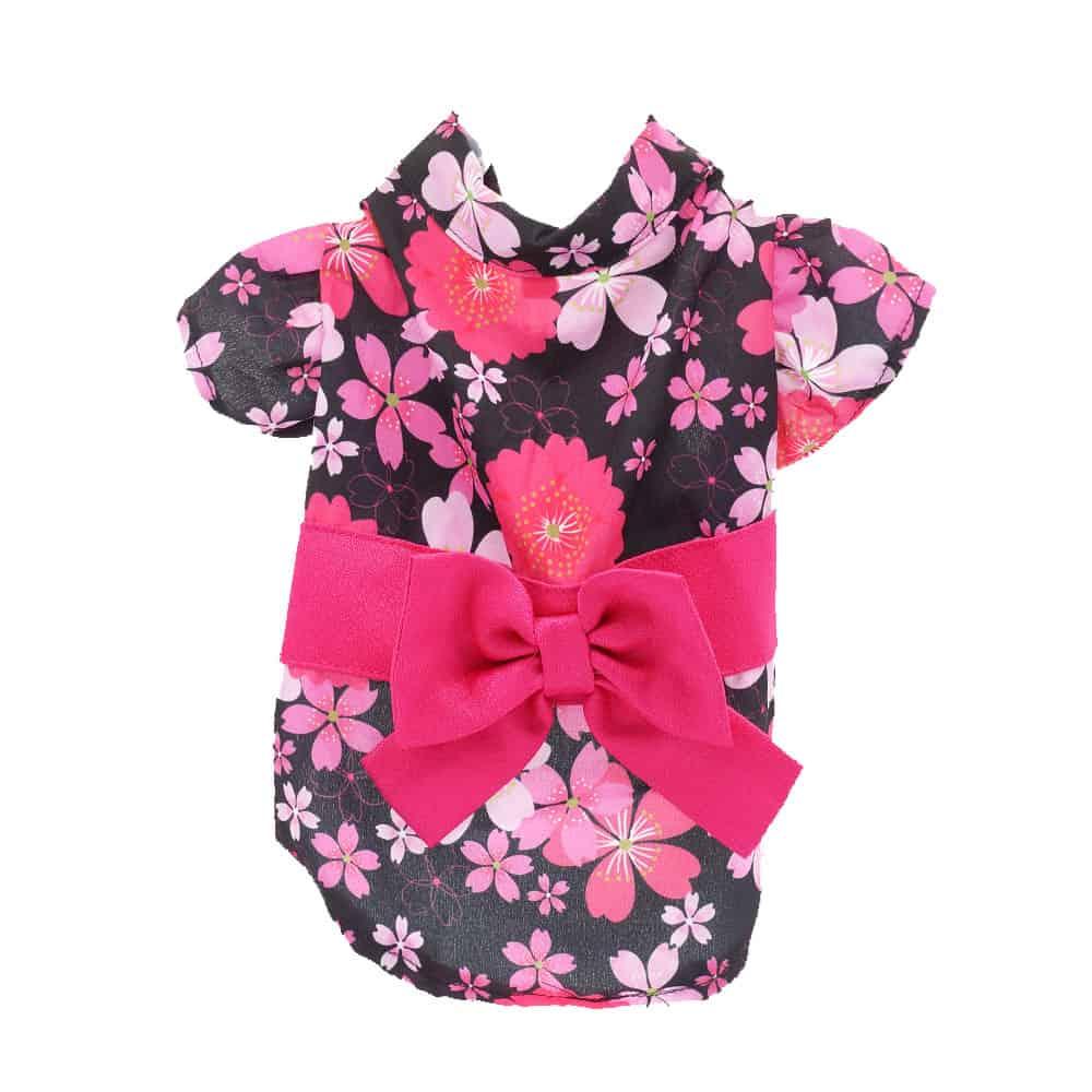 Pet Apparel - Kimono Black