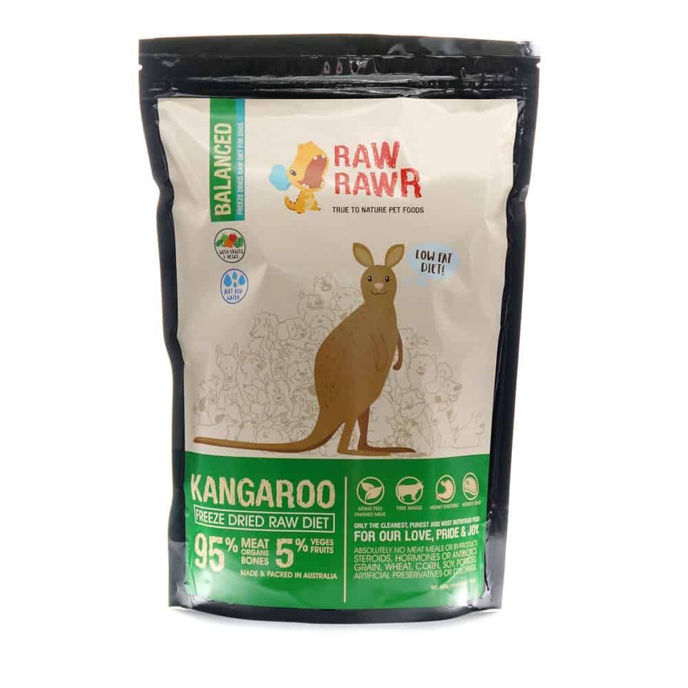 Raw Dog Food Kangaroo