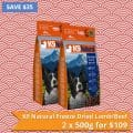K9 Natural FD Lamb/Beef – 2 x 500g for $109